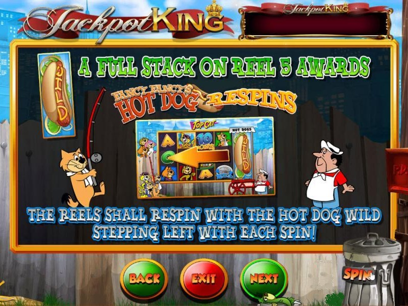 Top Cat Slot Jackpot