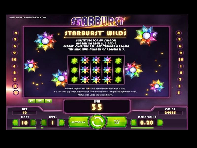 Starburst Slot Games 2