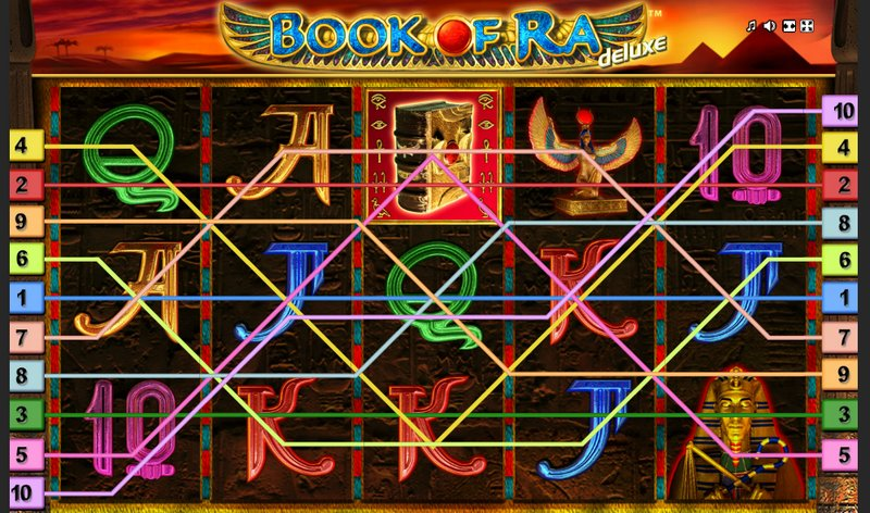 Book of Ra Paylines