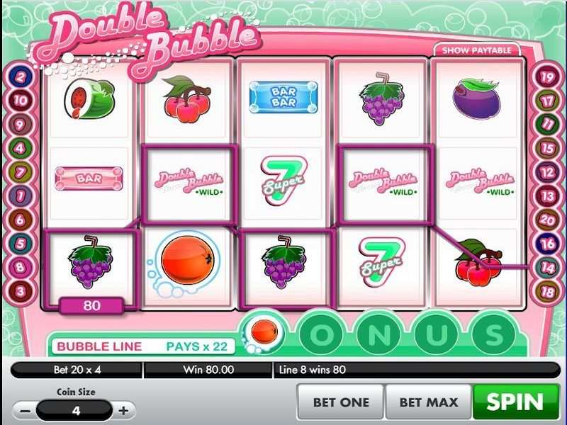 Double Bubble Slot