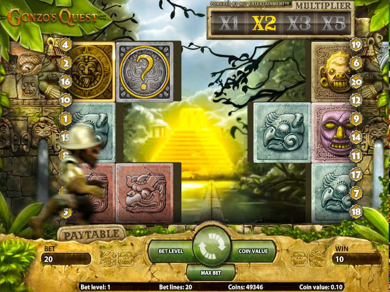 Gonzos Quest Slot 2