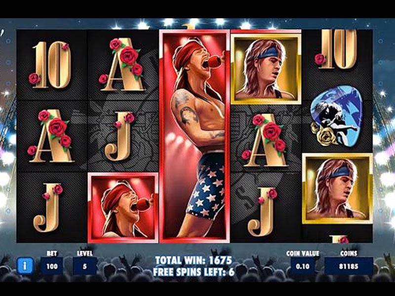 Guns N Roses Slot Wild