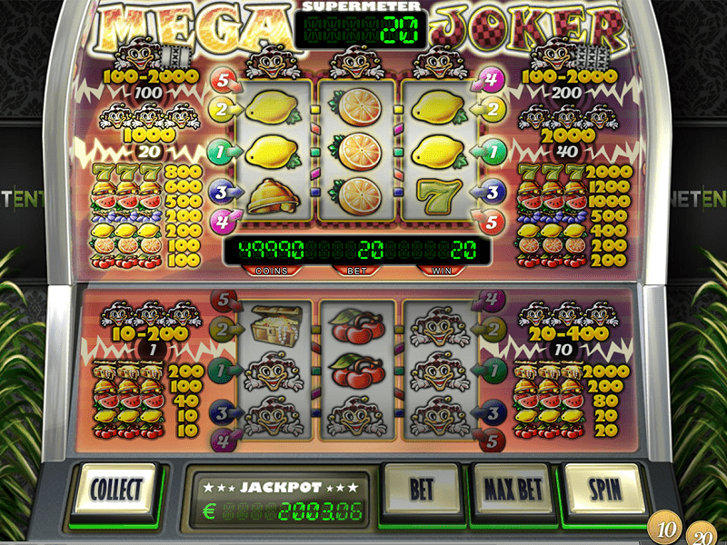 Mega Joker Slot Screenshot-min
