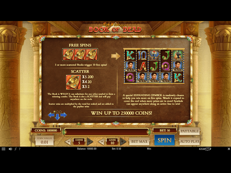 Book of Dead Slot 2