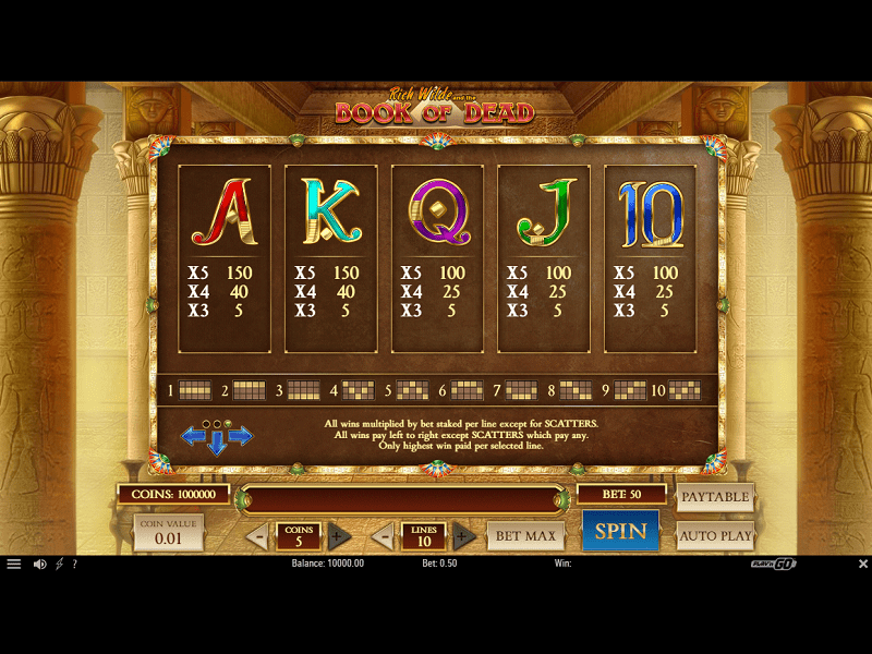 Book of Dead Slot 4