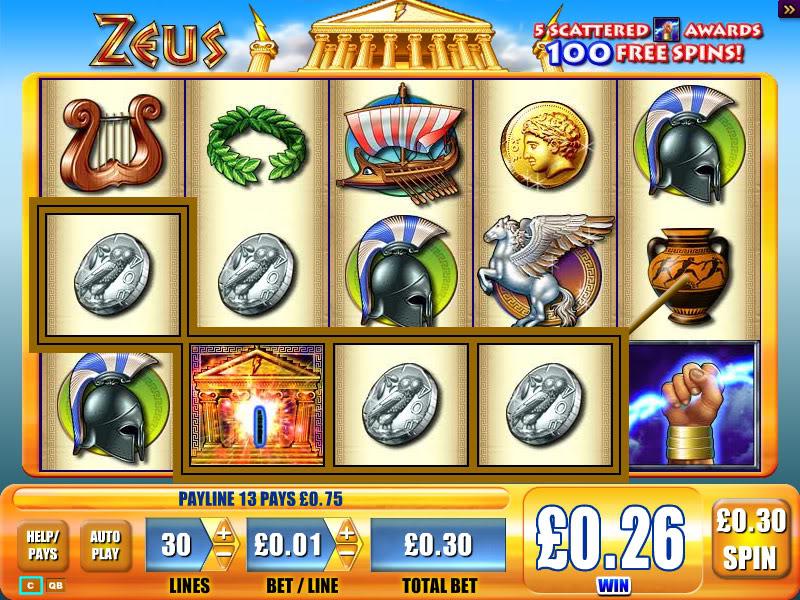 WMS Gaming Zeus 3