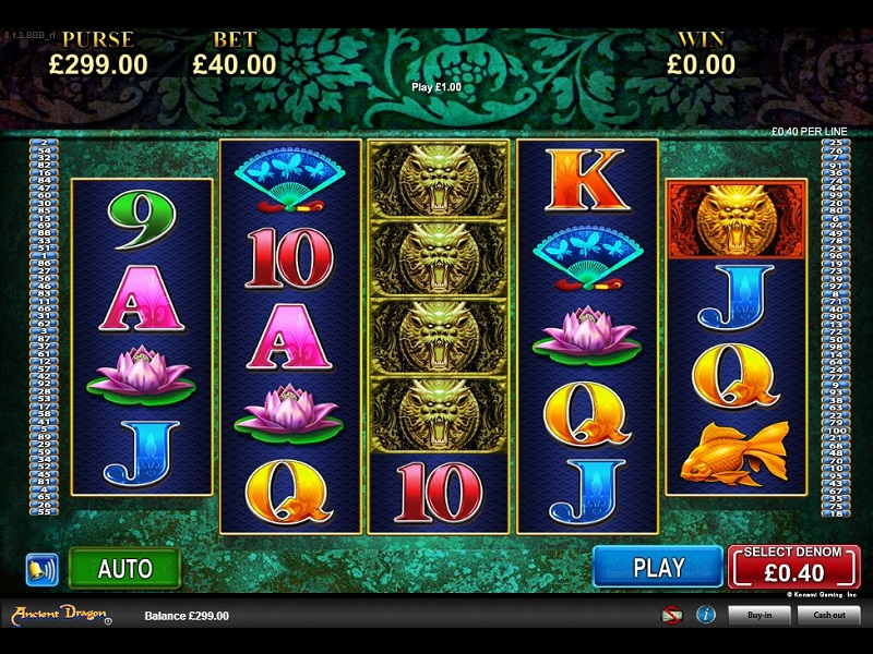 Ancient Dragon Slot Game