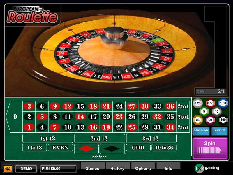 1x2 Gaming Roulette