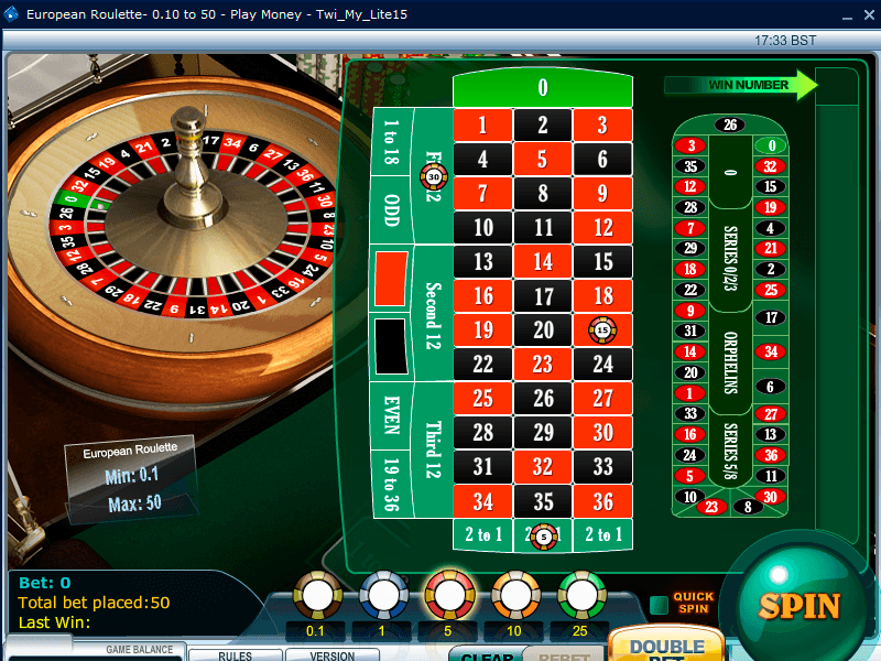 777 Casino tablee
