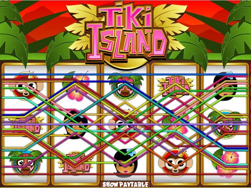 Tiki Island slot Paylines