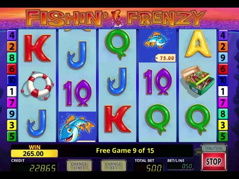 Play Fishin Frenzy Slot