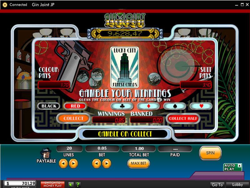 Play Gin Joint Slot
